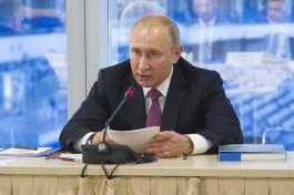 Владимир Путин: Будущее России не зависит от санкций