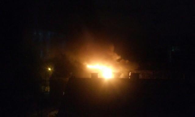 Ночью вКалининграде произошёл пожар вдвухэтажном доме
