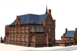 В здании почтамта Кранца в Зеленоградске планируют открыть апартаменты и кафе