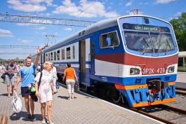 В дни проведения чемпионата мира по фейерверкам пустят дополнительные поезда в Зеленоградск
