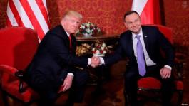 Трамп: Польша и США намерены действовать сообща против российской агрессии