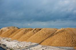 Полиция: Житель Калининграда организовал незаконную добычу песка под Светлым
