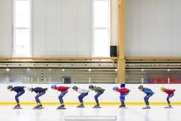 «21 день»: в Немане завершился тренировочный лагерь спортсменов-конькобежцев