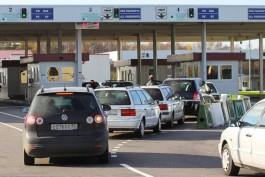Польские пограничники задержали пятерых россиян за неуплату штрафов