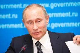 Владимир Путин: Детей лучше не шлёпать