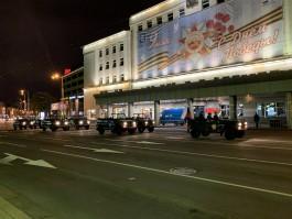 В первой репетиции парада Победы в Калининграде участвовало 2300 военнослужащих