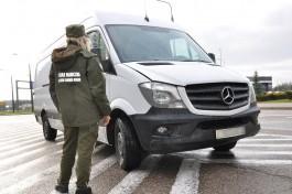С начала года на границе с Польшей задержали 52 украденных автомобиля