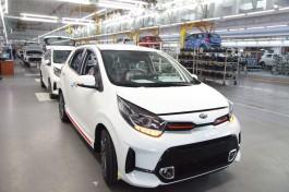 На «Автоторе» начали выпускать обновлённую версию Kia Picanto