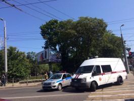 В центре Калининграда произошёл обрыв кабеля: движение перекрыто
