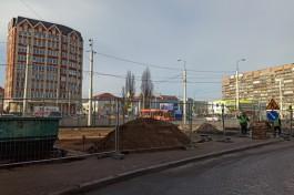 На перекрёстке улиц Фрунзе и 9 Апреля в Калининграде появится бесплатная парковка