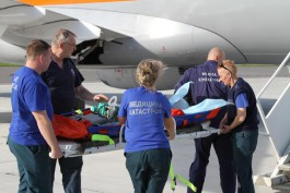 В Калининград доставили на лечение тяжелобольного ребёнка из Краснодара
