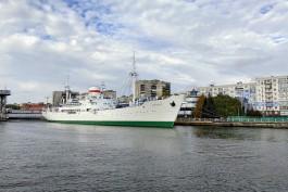 В Калининграде начали ремонт музейного судна «Витязь»