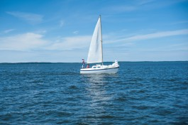 На берегу Калининградского залива оборудуют пляж и деревянный променад