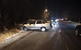 В Чкаловске водитель «Дэу» выехал на встречную полосу и врезался в «Шкоду»