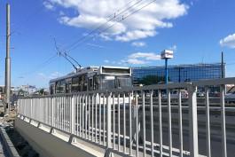 В Калининграде за путепровод на Московском проспекте вернулись троллейбусы