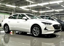 В Калининграде «Автотор» начал производство Hyundai Sonata по полному циклу