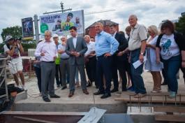 Ярошука попросили продлить сроки ремонта мостов на острове Октябрьском