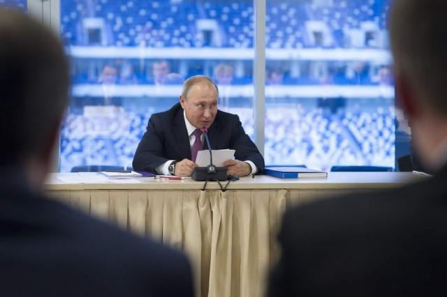 «Там видно будет»: Путин не исключил, что будет баллотироваться на новый президентский срок