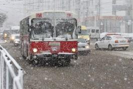 В выходные в Калининградской области ожидается снег с дождём