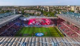 Польские футбольные болельщики случайно сожгли баннер с надписью «Мы никогда не сгорим»