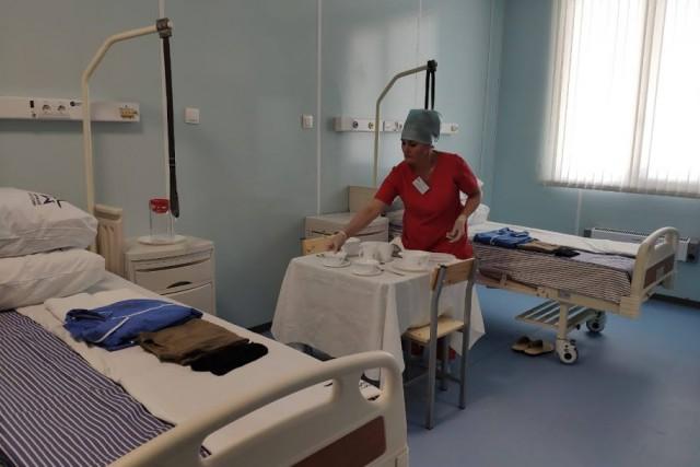В военном госпитале для больных коронавирусом в Калининграде развернут дополнительные койки