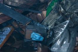 В сгоревшей постройке на улице Чехова в Калининграде нашли тело мужчины