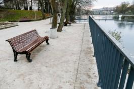 «Бетонная городская среда»: в Калининграде завершают благоустройство Нижнего озера