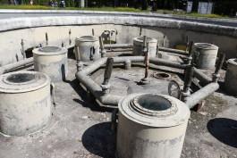 На территории калининградского зоопарка начали ремонтировать фонтан-памятник