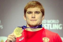Калининградский борец Муса Евлоев второй год подряд выиграл чемпионат мира