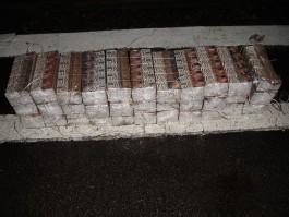 В поезде на погранпереходе в Мамоново нашли тысячу пачек контрабандных сигарет