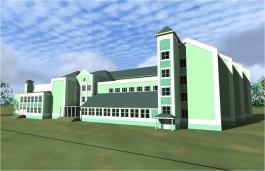 Подрядчик онкоцентра построит школу на улице Артиллерийской в Калининграде