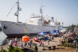 «Волна праздника»: в Калининграде прошёл фестиваль «Водная ассамблея»