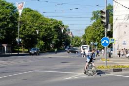 С начала года в Калининградской области произошло 20 ДТП с участием велосипедистов