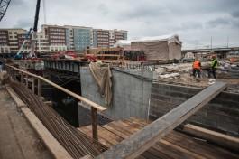 Каркас 45-метрового тоннеля под Высоким мостом построят к концу октября