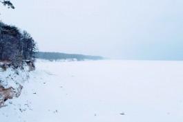 «Обернулось в лёд»: как и почему замерзает морское побережье Калининградской области