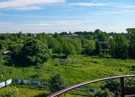 В Виштынецком парке обустраивают пять новых мест для отдыха