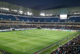 15 тысяч болельщиков протестировали новый стадион и сеть «МегаФона»