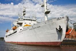 Власти обратятся к Путину, чтобы добиться реставрации исследовательского судна «Пацаев»