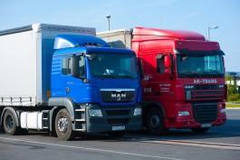 Калининградские пограничники предупреждают о скоплении грузовиков на границе с Литвой