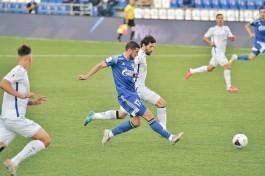 «Балтика» в матче с лидером ФНЛ отыграла два мяча и добилась ничьей