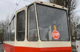 Четыре калининградских трамвая оборудовали информационными табло с сигналом об остановке