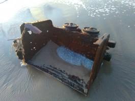 Выброшенная штормом на берег в Донском вагонетка стала экспонатом Музея янтаря