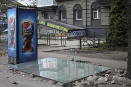 Рядом с отремонтированными домами на Ленинском проспекте в Калининграде снесли палатки
