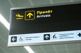 Сборная Испании приземлилась в аэропорту «Храброво»