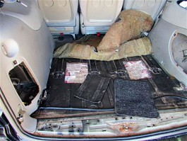 Калининградские таможенники изъяли автомобиль у контрабандиста из Литвы