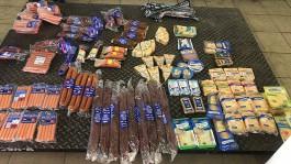 Калининградские таможенники изъяли у дальнобойщика 40 килограммов санкционных продуктов