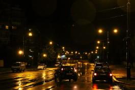 В пятницу отключат освещение на нескольких улицах Калининграда