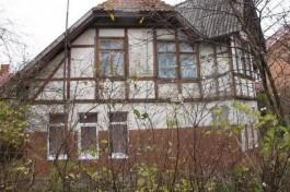 На улице Лермонтова в Зеленоградске отремонтируют дом-памятник начала XX века