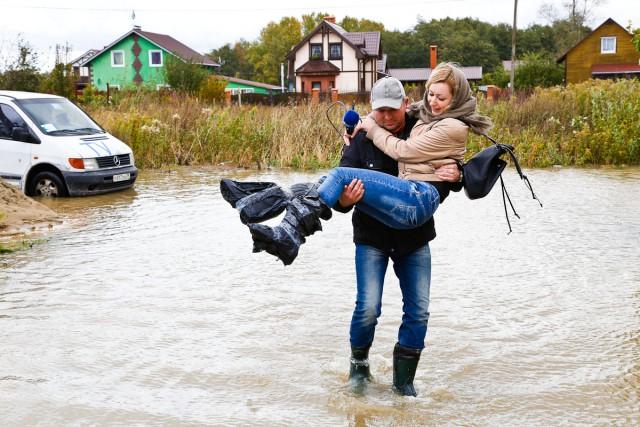 ВЗеленоградском районе из-за подтопления введен режим чрезвычайной ситуации