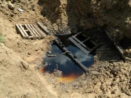Экологи: В Гурьевском округе произошёл разлив нефти из трубопровода